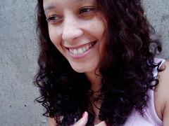 asleep on a sunbeam (le jardin public - CS Photo) Tags: selfportrait girl smile hair eyes lips curly garota curlyhair