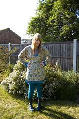 (evilibby) Tags: wardroberemix garden turquoise libby docs drmartens dms greendms turquoiseleggings turquoisekathmandutop