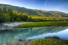 Sunset at Eklutna (HDR)