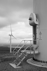 Scout Moor Wind Turbines (Mark-Crossfield) Tags: pictures uk greatbritain england blackandwhite wonderful spectacular photo amazing pretty industrial photographer view image photos britain farm great picture scene images fave clear explore capture scenes turbine windturbine fivestar photosof picturesof scoutmoor imagesof markcrossfield rainfordphotographer snapsof picciesof