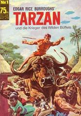 Tarzan #1 (micky the pixel) Tags: comics comic bsvverlag tarzan büffel edgarriceburroughs bildschriftenverlag goldkey georgewilson