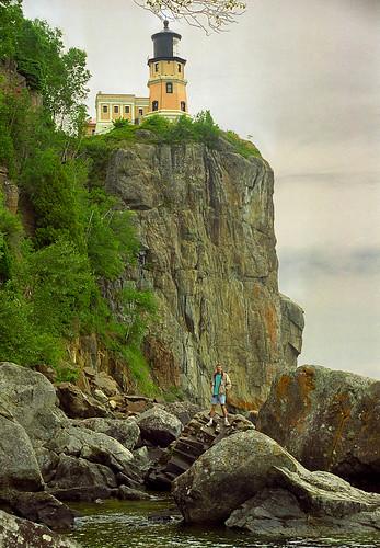 Split Rock Lighthouse & Me HDR [16]