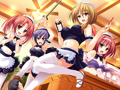 Maids (neo_cloud_strife777) Tags: girls anime angels maids