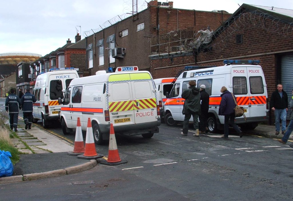 Vehicles in Vision Police Public Order Vans