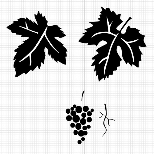 grape-vine-leaves