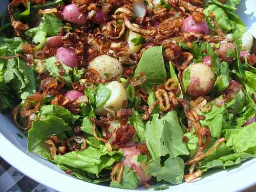 Dave's Kitchen » Shallot and Sugar-Snap Potato Salad