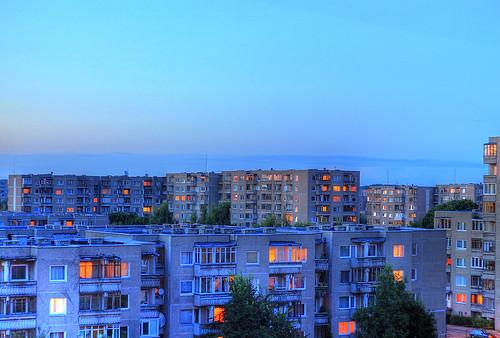 Seni daugiabučiai Vilniuje