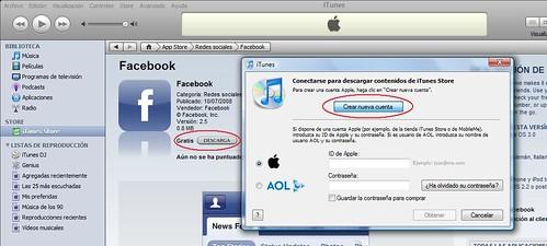 Cuenta iTunes Store 01 Crear