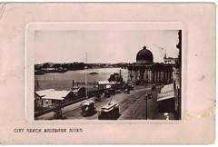 City Reach Brisbane River - 1909