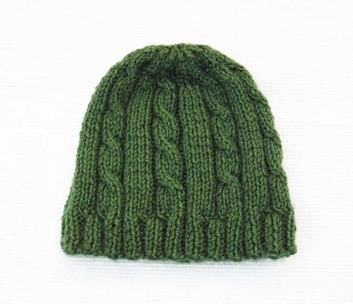 Man women knitted hat beanie.