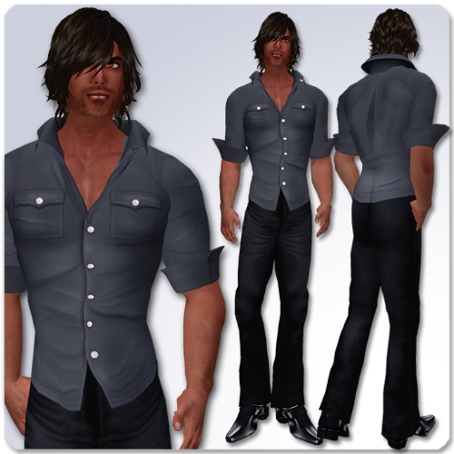 I enjoy a shirt and a pair of trousers as a smart-casual look,