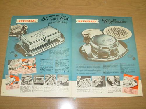 Landers, Frary & Clark, Universal Electric Housewares catalog, 1950