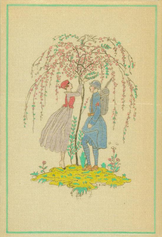 La Guirlande des Mois, 1917, cover illustration.