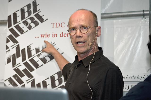 Erik Spiekermann by Bundscherer
