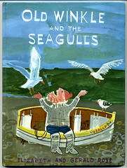 Gerald Rose- Old Winkle and the Seagulls (moonflygirl) Tags: uk seagulls fish fishing fisherman vintagechildrensbooks geraldrose