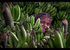 banana smile :) (rAmmoRRison) Tags: people india smile emotion joy banana indians ruralindia top20india rammorrison