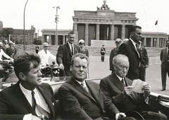 Kennedy, Brandt, and Adenauer in Berlin (hartjeff12) Tags: berlin brandt brandenburg kennedy adenauer