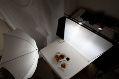 Spaghetti Lighting Set Up