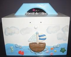Farmacinha (Criativa.Slz) Tags: barco biscuit peixe kit peixinhos fundodomar bab farmacinha kithigienico