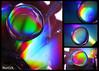 Dvd Rainbow (Luca Morlok) Tags: water colors canon lights dvd luca rainbow colore cd bubble luci arcobaleno luce bolla goccia obiettivamente lucamorlok nottedicolore mostrasedriano