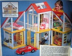Sears Christmas Catalog, 1981 (devolanges~Addicted2Cuteness) Tags: christmas sears ken barbie skipper 80s 1981 catalog dreamhouse