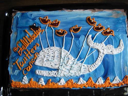 Fail Whale Cake