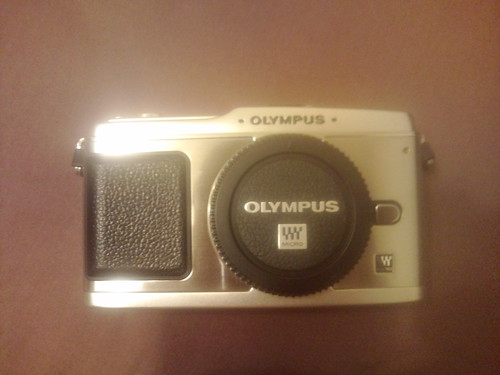E-p1 olympus pen 接写