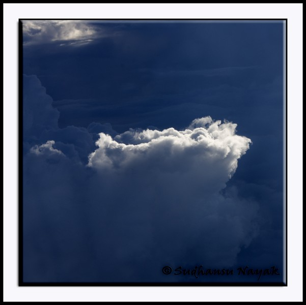 Cloud Formation-7-When only a small patch of the clouds get lighted