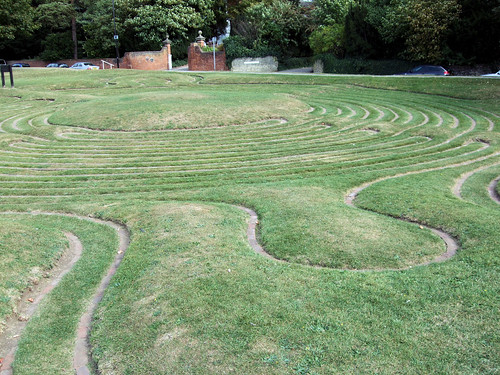 The Turf Maze, Saffron Walden.