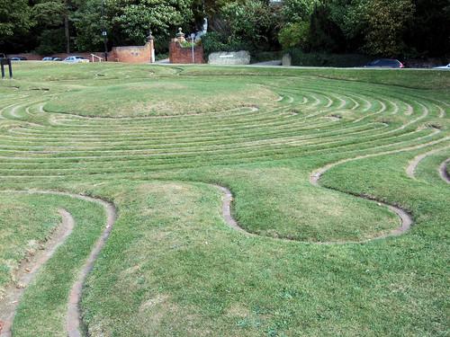 The Turf Maze, Saffron Walden.