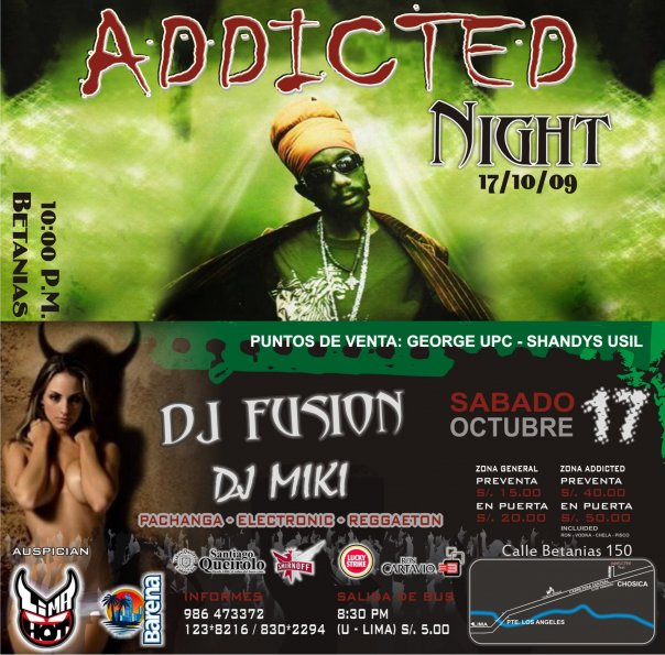 Addicted Night - Betanias