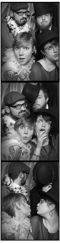 wedding photobooth fun