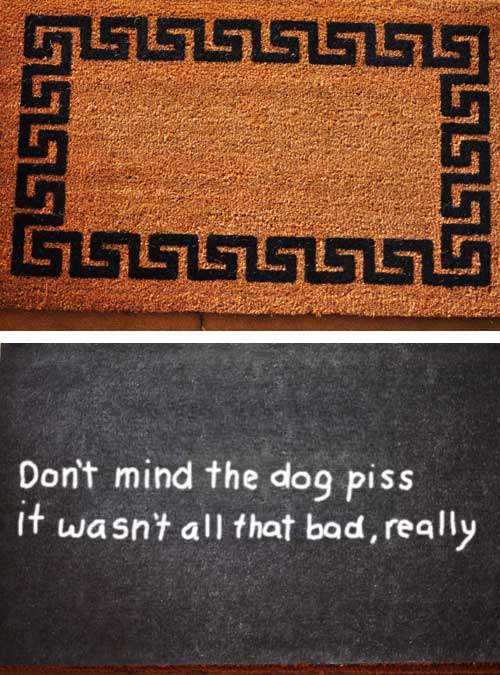 welcome mat anti-theft 3
