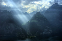 Switzerland: Let There be Light (Tim Blessed) Tags: sky mountains nature clouds switzerland landscapes scenery lakes mywinners anawesomeshot superaplus aplusphoto singlerawtonemapped alemdagqualityonlyclub saariysqualitypictures