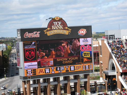 Show Your Card - TCF Bank Stadium