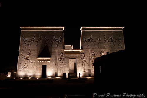 Temple of Philae - Sound and Light show