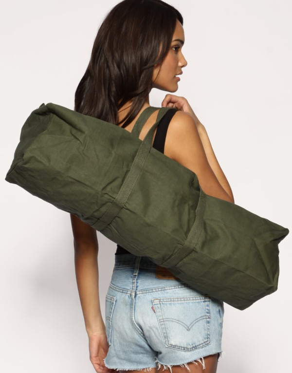 ASOS Reclaimed collection army tool bag