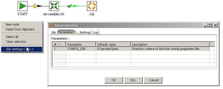 Roland Bouman's blog: Managing kettle job configuration