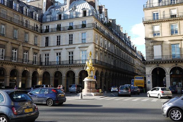 Statue de Jeanne d'Arc 聖女貞德像