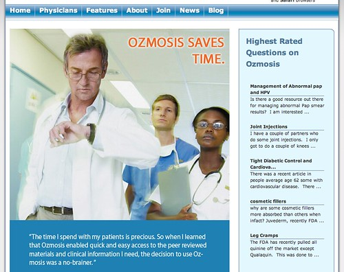Web 2.0: Ozmosis (Physician Social Network)