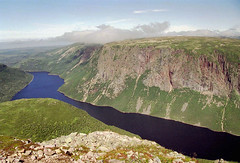 View from the top of Gros Morne by Ik T