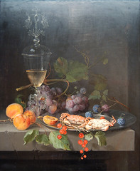 Still Life with Crabs on a Pewter Plate, circa 1669 - 1672 (Maulleigh) Tags: life art museum de still with young plate abraham deyoung crabs pewter mignon