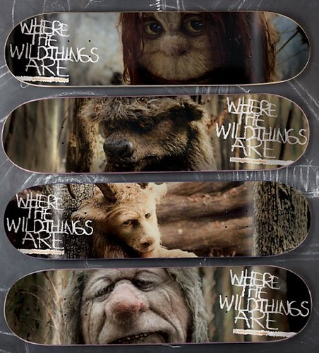 Where The Wild Things Are patinetas