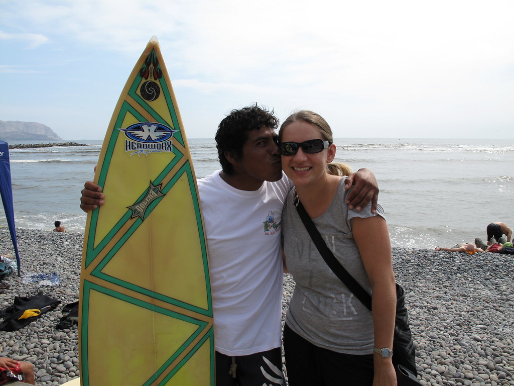 Me and my surfing teacher