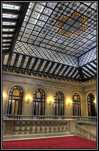 Parlamento Escalera Central y Su Bobeda