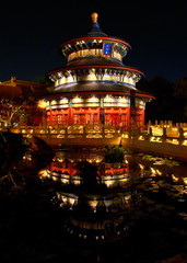Disney - China at Night (Explored)