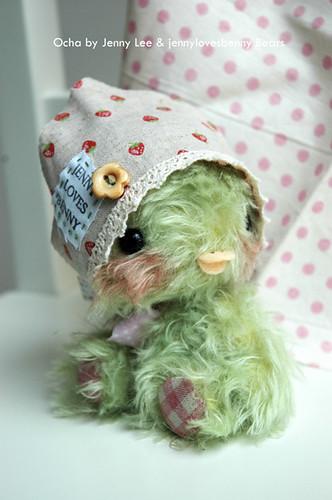 Ocha green tea chickadee by jlbbears.