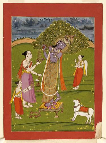 011- Pintura india siglos XVIII- XIX