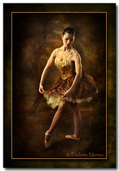Second Nature (Paulette Mertes) Tags: ballet texture portraits canon dance ballerina paintingwithlight studioportrait studiolighting specialtouch thegoldentouch empyreanart magicartoftextures soulofphotography artistictreasurechest themonalisasmile thetruthgallery tumiqualityphotography ballettheatrecompanyofwesthartford