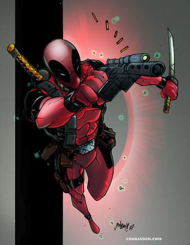 Deadpool bycommanderlewis